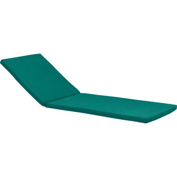 Rocha Sunbrella ® Harbor Blue Chaise Cushion