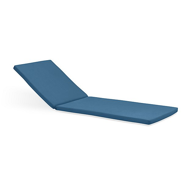 Rocha sunbrella chaise lounge cushion crate and barrel for Chaise cushions clearance