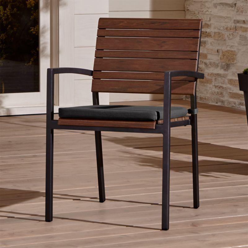 Crate And Barrel Dining Chair: Rocha Dining Chair With Sunbrella ® Cushion Sunbrella