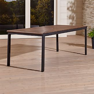 Top rated outdoor furniture crate and barrel for Top rated dining tables