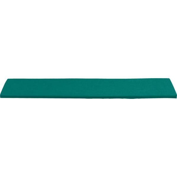 Rocha Sunbrella ® Harbor Blue Dining Bench Cushion