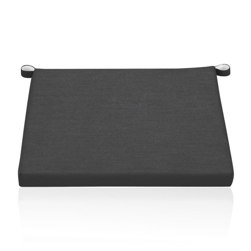 Add extra comfort to Rocha lounge chair with fade-, water- and mildew-resistant Sunbrella® acrylic cushions in chic charcoal.<br /><br /><NEWTAG/><ul><li>Fade- and mildew-resistant Sunbrella® acrylic</li><li>Polyurethane foam fill</li><li>Cushion is secured with fabric tab fasteners</li><li>Spot clean</li><li>Made in USA or China</li></ul>