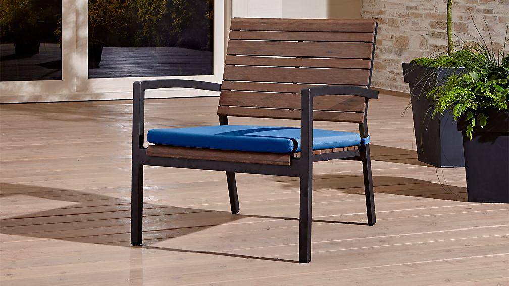 Rocha Lounge Chair with Sunbrella Cushion Sunbrella