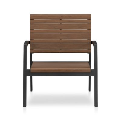 outdoor furniture teak wood metal resin crate and barrel
