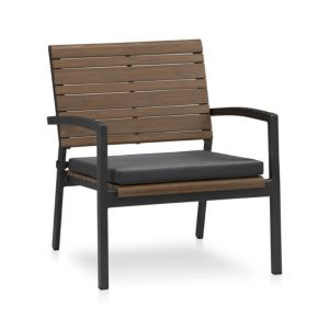 Rocha Lounge Chair with Sunbrella® Charcoal Cushion