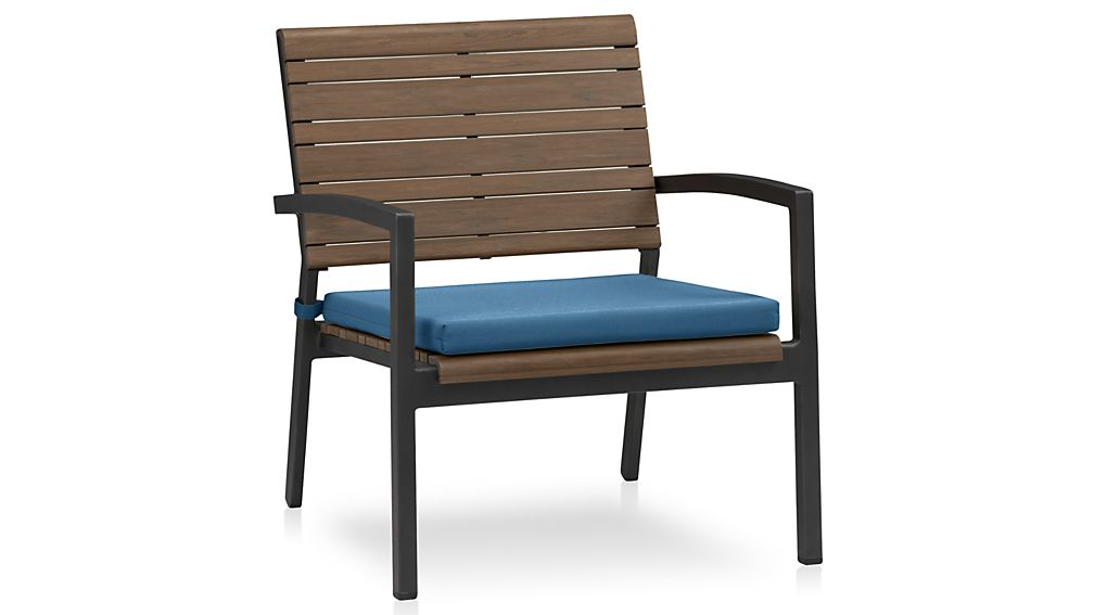 Rocha Lounge Chair with Sunbrella ® Cushion