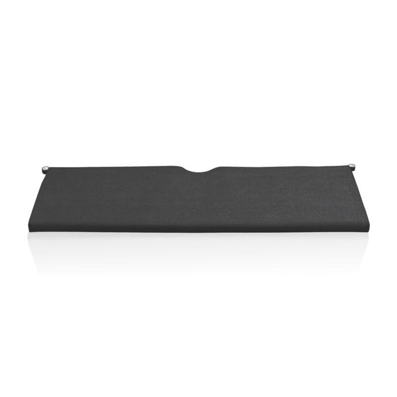 Add extra comfort to Rocha sofa with fade-, water- and mildew-resistant Sunbrella® acrylic cushions in chic charcoal.<br /><br /><NEWTAG/><ul><li>Fade- and mildew-resistant Sunbrella® acrylic</li><li>Polyurethane foam fill</li><li>Cushion is secured with fabric tab fasteners</li><li>Spot clean</li><li>Made in USA or China</li></ul>