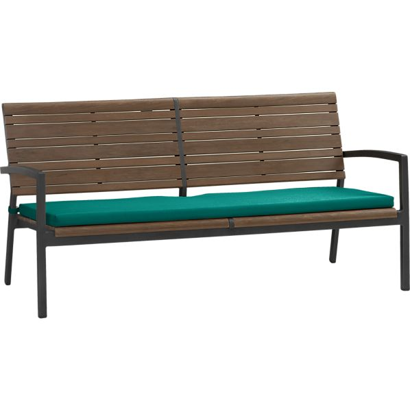 Rocha Sofa with Sunbrella ® Harbor Blue Cushion