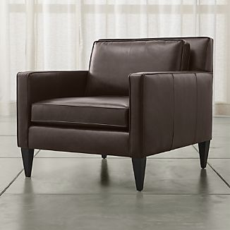 Leather Sofas Amp Chairs Crate And Barrel