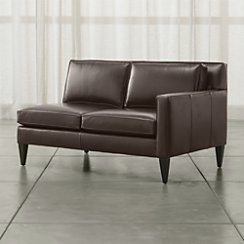 Rochelle Leather Right Arm Loveseat