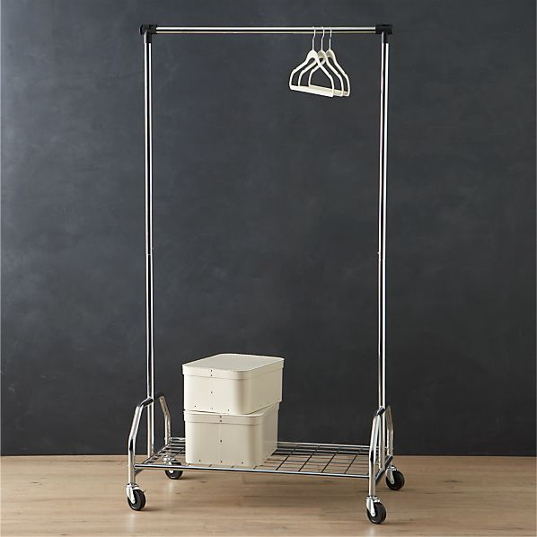 Extra Large Rolling Clothes Rack