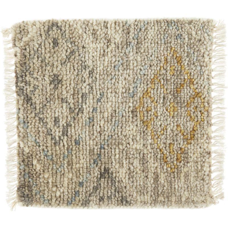 "Romina Wool-Blend 12"" sq. Rug Swatch"