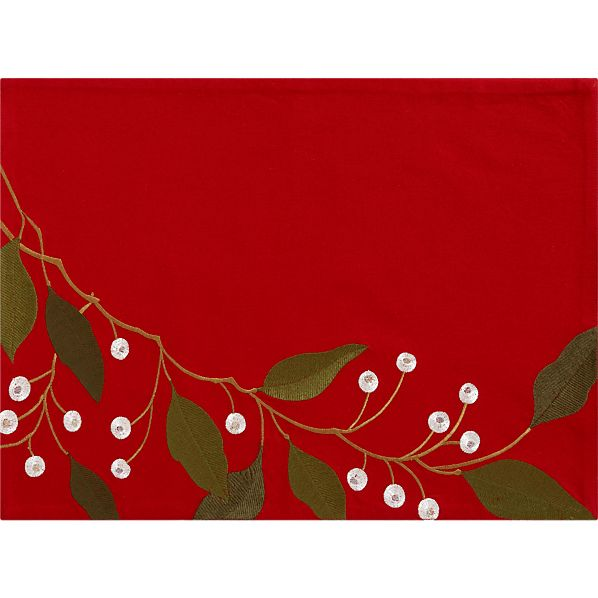 Rona Red Placemat