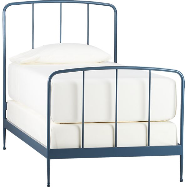 Rory Blue Twin Bed