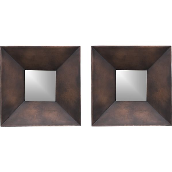 Set of 2 Rory Wall Mirrors