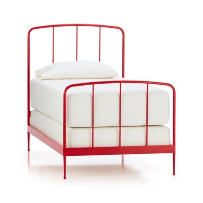 Rory Red Twin Bed
