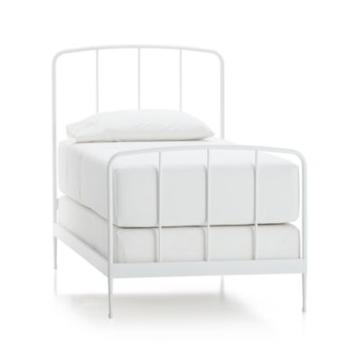 Rory White Twin Bed