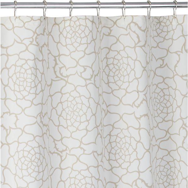 Rosa Multiflora Shower Curtain