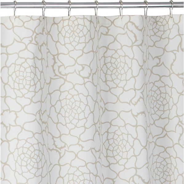 Rosa Multiflora Shower Curtain