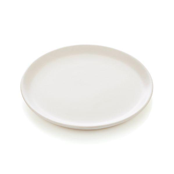 Roscoe White Appetizer Plate.