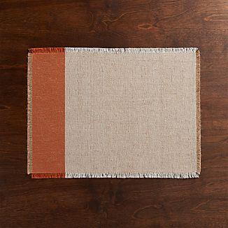 Roscoe Orange Placemat