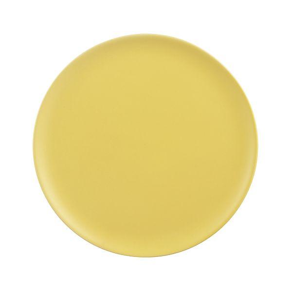 "Roscoe Yellow 8"" Plate"