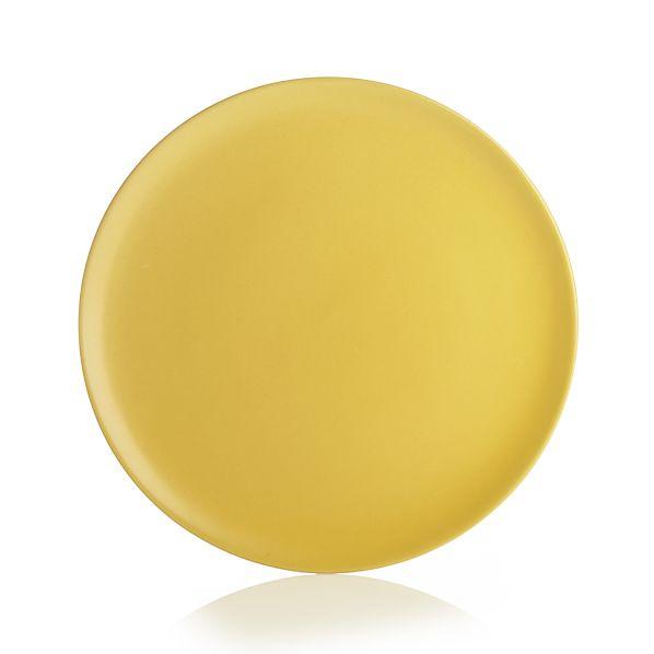 Roscoe Yellow Salad Plate