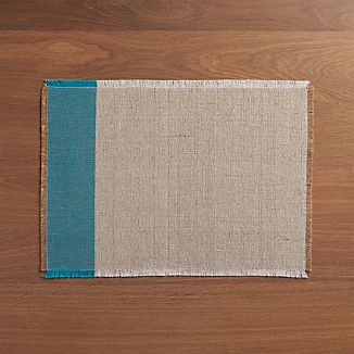 Roscoe Teal Placemat