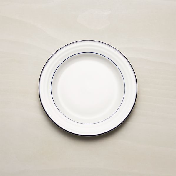 Roulette Blue Band Salad Plate