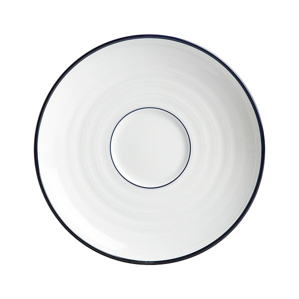Roulette Blue Band Saucer