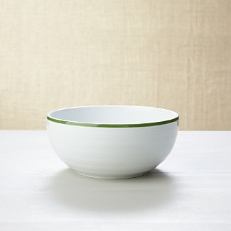 Roulette Green Band Cereal Bowl