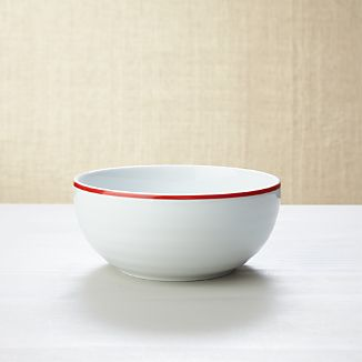 Roulette Red Band Cereal Bowl