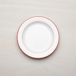 Roulette Red Band Salad Plate