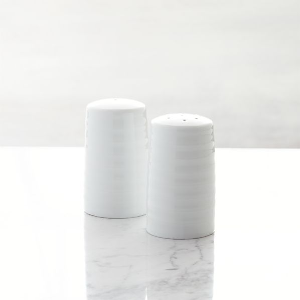 Roulette Salt and Pepper Shakers