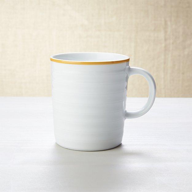 Roulette Yellow Band Mug
