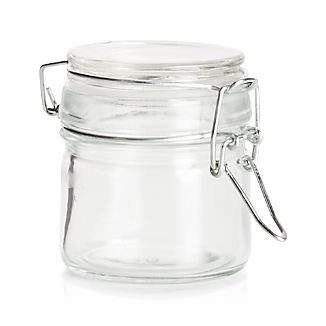 Round Mini Jar with Clamp