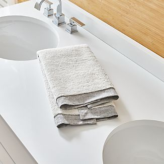 Rowan Grey Hand Towel