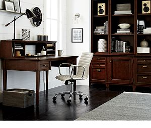 """Harrison 60"""" Cherry Desk with Drawers"""