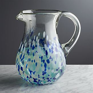 Rue Blue Pitcher