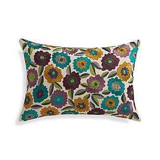 "Russo 18""x12"" Pillow with Feather-Down Insert"