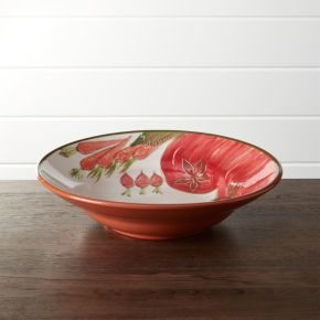 Rustic Garden Serve Bowl