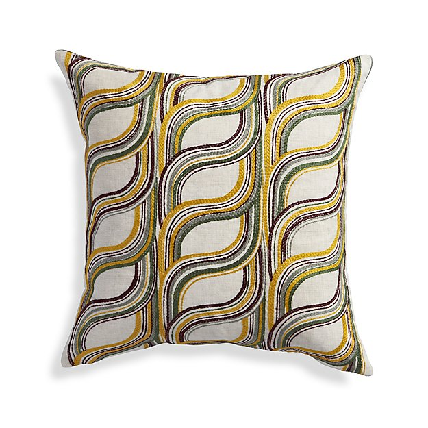 Crate And Barrel Decorative Pillow Covers : Rylie 18