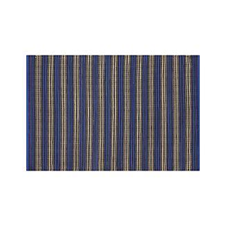 Sachi Blue Stripe Indoor/Outdoor 4'x6' Rug