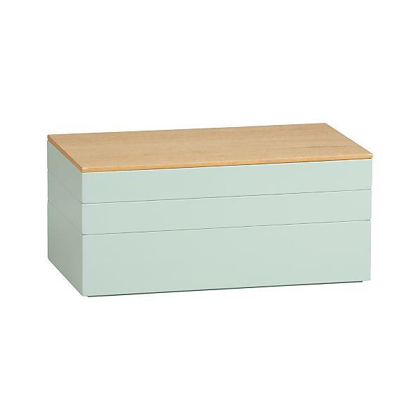 Sage Jewelry Box