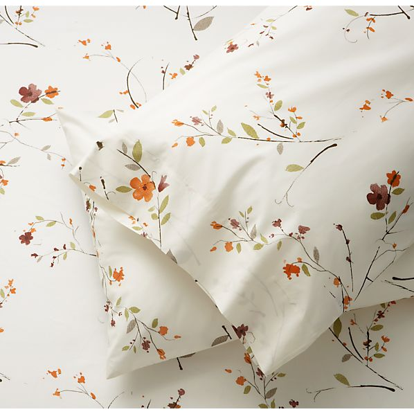 Set of 2 Sakura Standard Pillowcases
