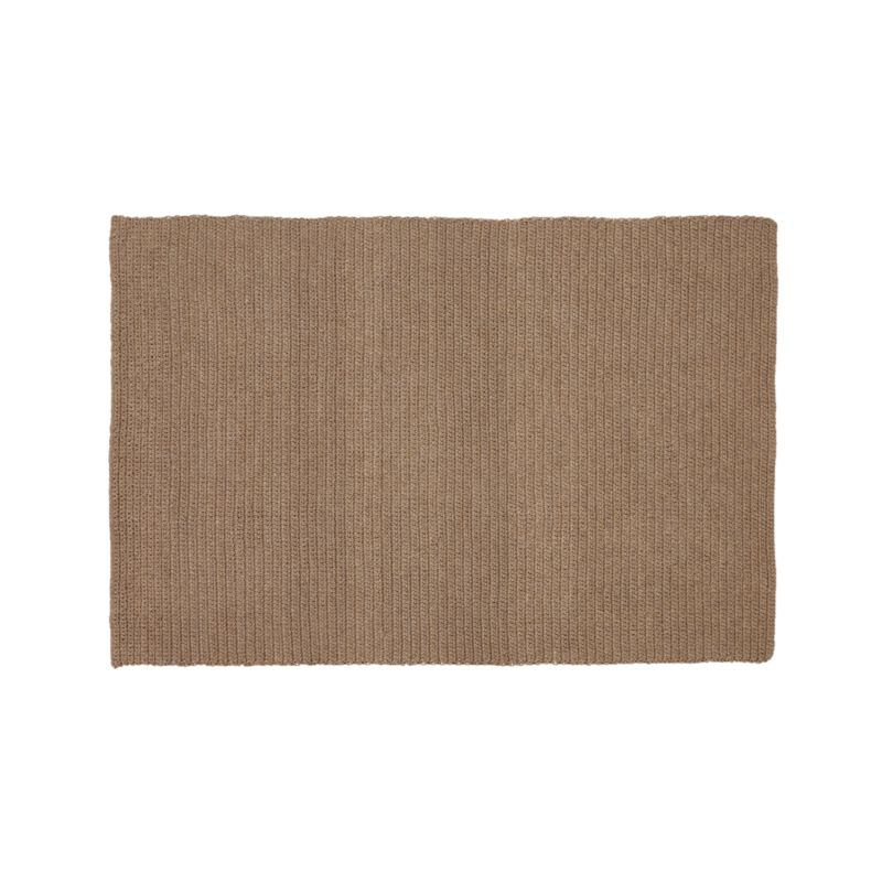 Salome Sand Indoor Outdoor 8 39 X10 39 Rug Crate And Barrel