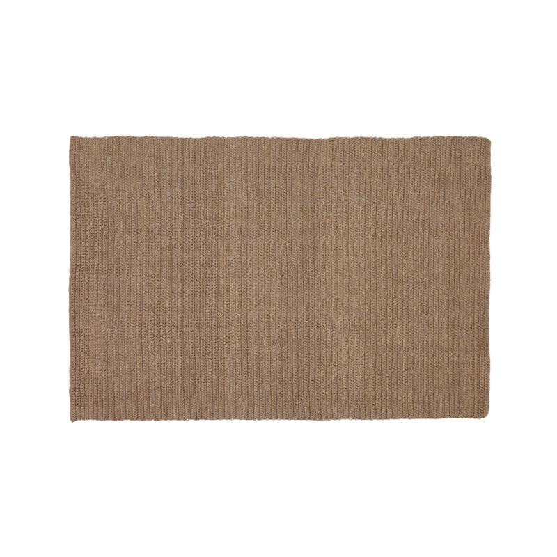 Salome sand indoor outdoor 8 39 x10 39 rug crate and barrel for Cb2 indoor outdoor rug