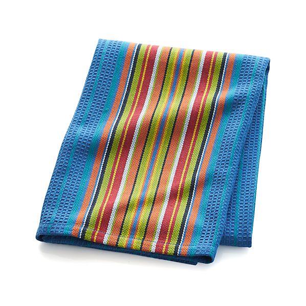 Salsa Dos Blue Dish Towel