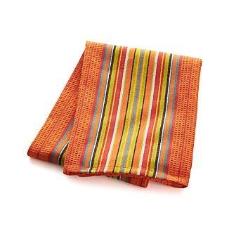 Salsa Dos Orange Dish Towel