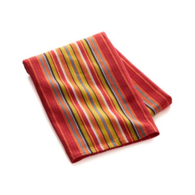 Salsa Dos Red Dishtowel